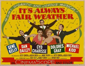 It's_Always_Fair_Weather_(1955_film)_poster_(yellow_background)