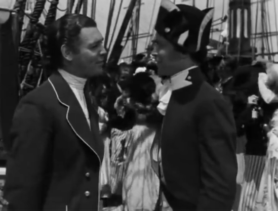 mutiny on the bounty Gable and Tone