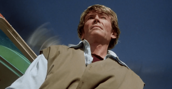 the stunt man peter o'toole heliocopter