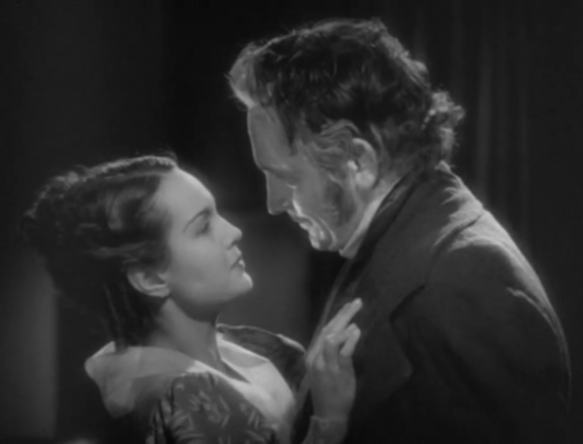 les miserables Rochelle Hudson and Fredric March